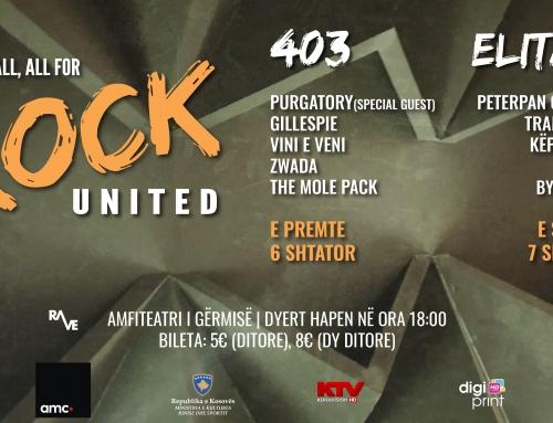Rock United Fest – 6 dhe 7 shtator